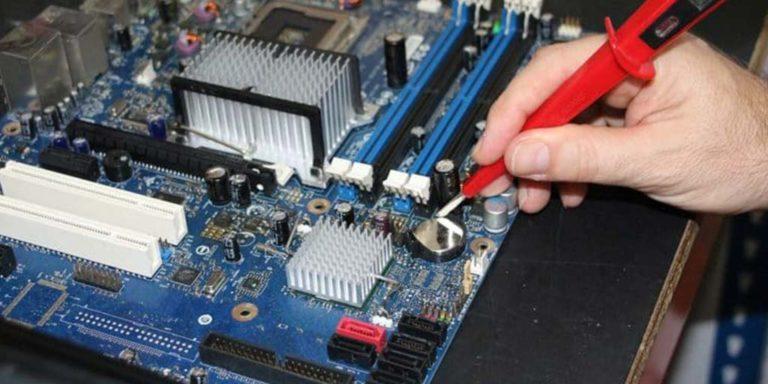 Changement de la pile bouton mémoire BIOS