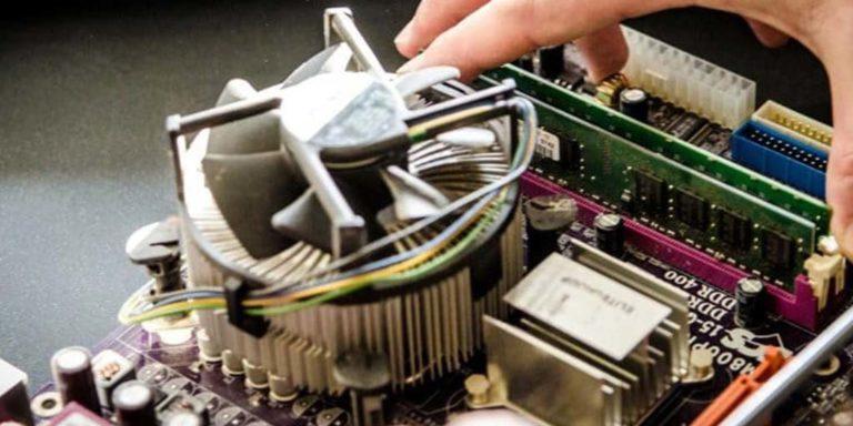Ventilation du processeur